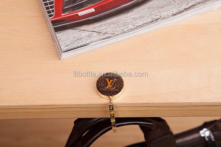 Custom Logo Purse Bag Hanger,Folding Table Bag Holder With Custom Logo  Design For Promotion Or As Gifts   Buy Wholesale Blank Bag Hanger,Restaurant  Purse ...