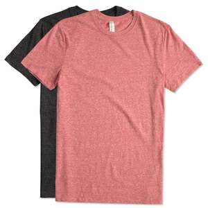 50% polyester 25%cotton 25%rayon tri blend plain oversized shirts label custom men t-shirt wholesale