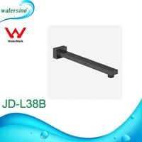 watermark black DR brass shower arm mount JD-L38B