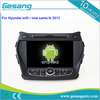 Gesang HD touch screen car radio for Hyundai ix45/new santa fe 2013 with Quad Core Rockchip 3188 1080P 16g ROM WiFi 3G