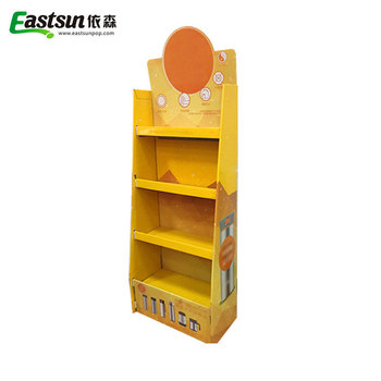 Recyclable Retail Large Paper Display Stand