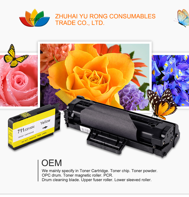Compatible Zwarte Toner Cartridge Met Chip Voor Ricoh SP150 150SU 150 w 150SUW Laser Printer