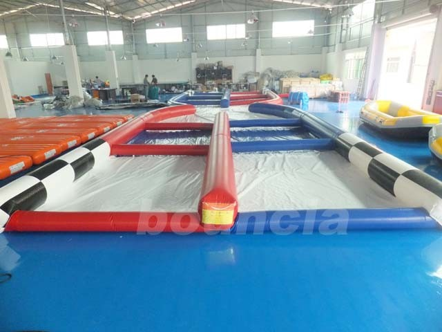 Outdoor Sport Games Zorb Collision Track For Zorb Ball