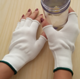good quality nylon cut finger knitted gloves without finger gloves