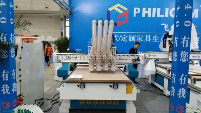 Philicam factory wooden cnc router machine woodworking for furniture design making