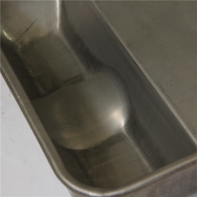 OEM high quality electrolytic polishing food grade stainless steel pig feeder