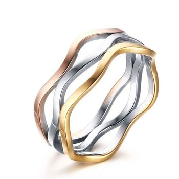 hollow costume jewelry jewellery models for womens rings stainless steel  gold jewelry 892c5e6e98
