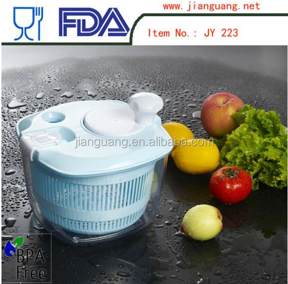 Hot selling mini salad spin dryer
