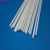 White color plastic PVC rigid stick rod 5mm