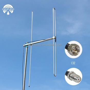 r cepteur radio fm antenne d 39 antenne yagi antenne ext rieure vhf 87 5 108 mhz f connecteur m le. Black Bedroom Furniture Sets. Home Design Ideas