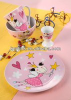Newest best sell easter matte finish dinnerware sets