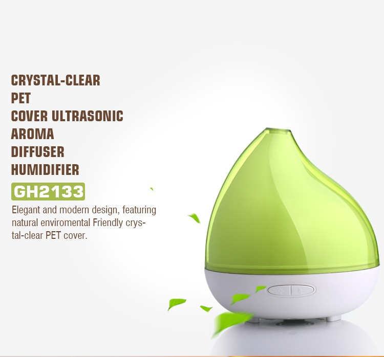 Ioncare 300ml Ultrasonic Aroma Diffuser Humidifier,Electric Air ...