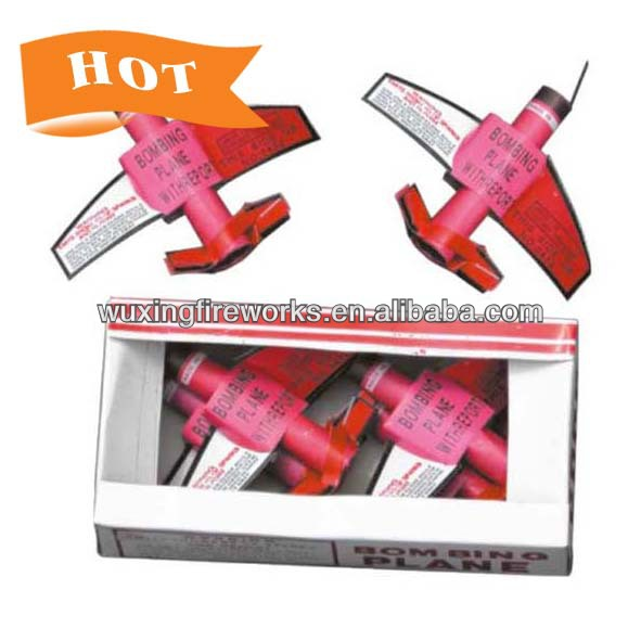 Bombing Plane With Report Ground Spinning/toy fireworks for kids