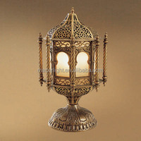 Moroccan cooper table lamp hot sale