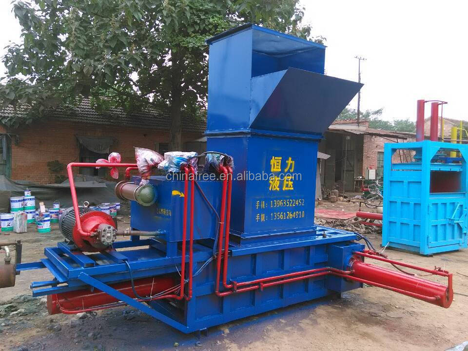 Hot Sales Sawdust Wood Shavings Press Baler Machine Baler