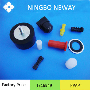 Molded custom EPDM rubber injection molding