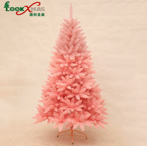 Pink Artificial Christmas Tree.Factory Selling Decoration Pink Artificial Christmas Tree