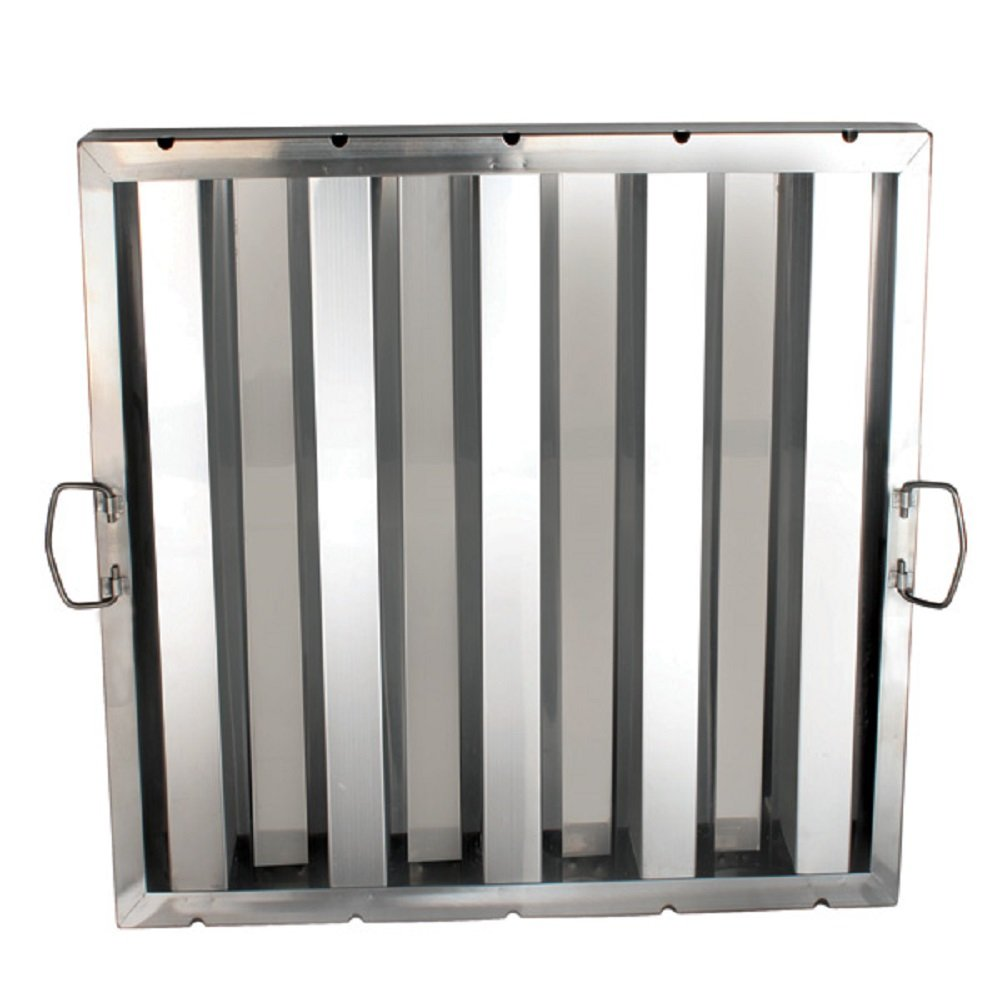 """AmGood Stainless Steel Hood Grease Filter   Pack of 6 Filters   All Sizes (20"""" Length X 20"""" Width)"""