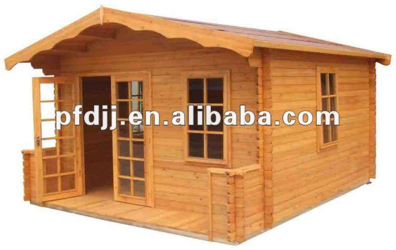 Simple peque a casa de madera los ni os de la casa de - Casa pequena de madera ...