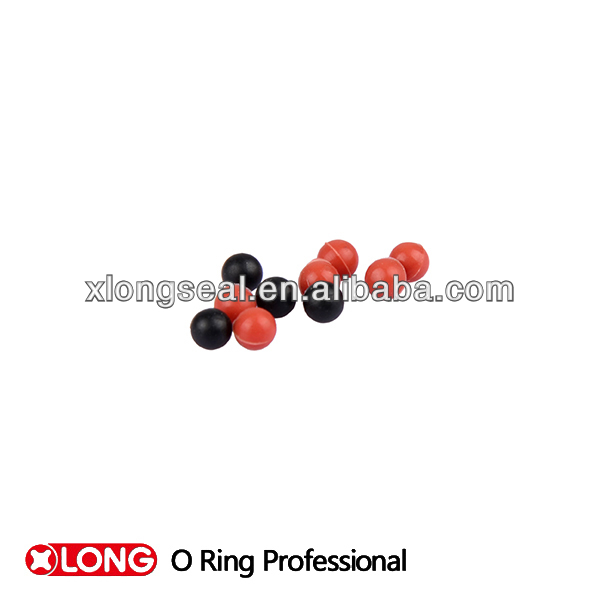 high performance viton seals Solid rubber ball