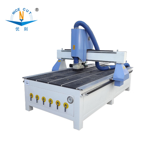 router chair armrest, 5 axis for MDF board,woodworking machine blue Nice cutphant cnc with atc spindle made in China