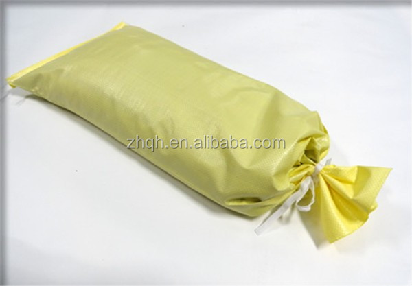 Cheap plastic 25kg woven tube sand bags made in China