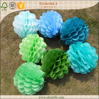 wedding party favor tissue paper honeycomb decorations craft