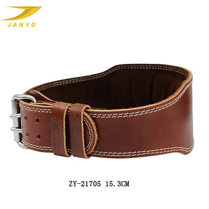 Customized popular weight lifting belt genuine leather weight lifting belt