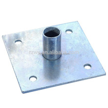 Rizhao Weiye Steel jack base plate for construction scaffolding