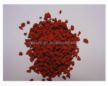 Hot sale price of crumb rubber recycled rubber granules floor protection