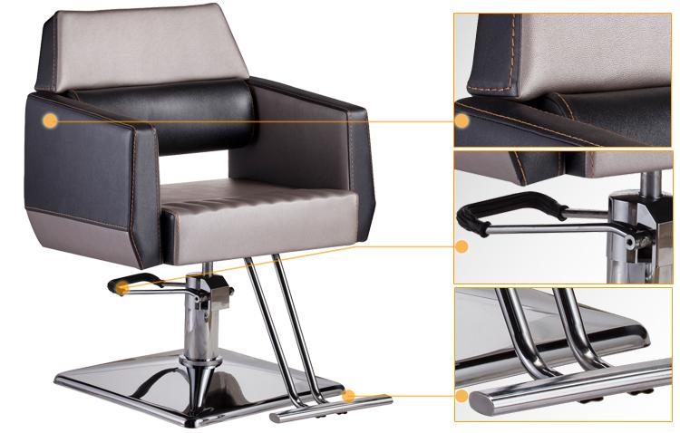 Parrucchiere attrezzature salone portatile sedia da barbiere in