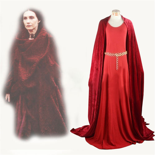 Halloween Game Of Thrones Melisandre Cosplay Costume