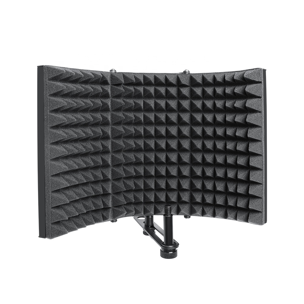 Professional Isolation cover for microphone Audio Reduce Noise Microphone Isolation Shield