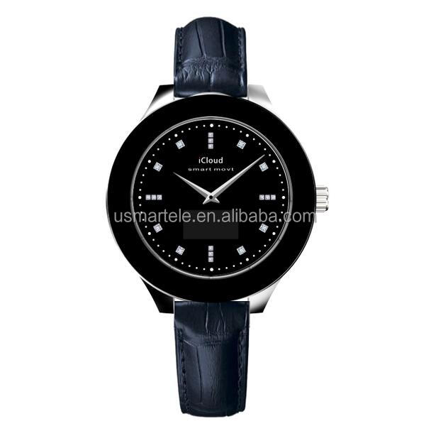 luxury brand men watch W01 Bluetooth smartwatch with Jewel phone watches men Fitness watch leather strap watch