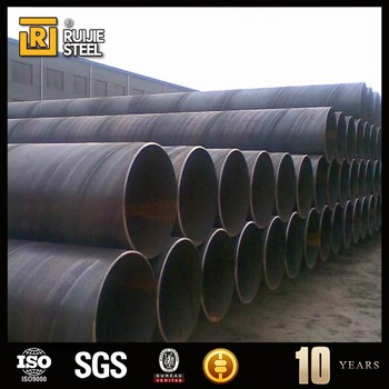 Ssaw Spiral Welded Pipe/large Diameter Spiral Steel Pipe Api 5l On ...