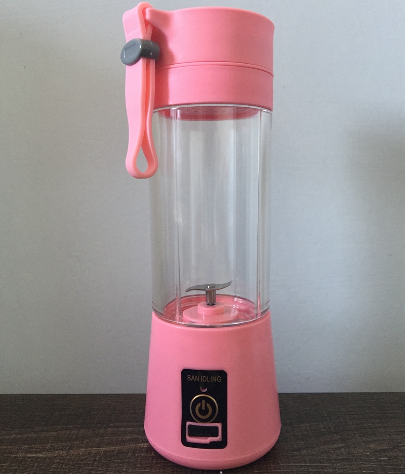 Hand shaking Rechargeable USB car usb smoothie maker