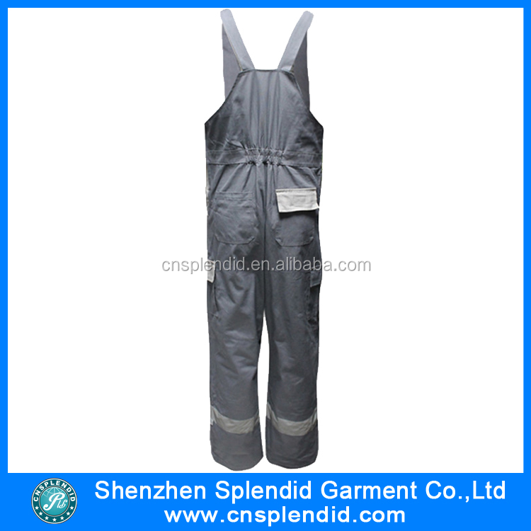bdeb80fe354 New Design Working Bib Pants With Oxford Kneepad With Good - Buy ...