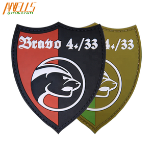 PVC Patch 3D Tactical Morale Rubber Custom 3D Soft PVC Patch
