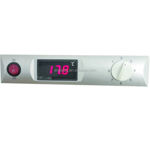 LED screen temperature controller with knob switch
