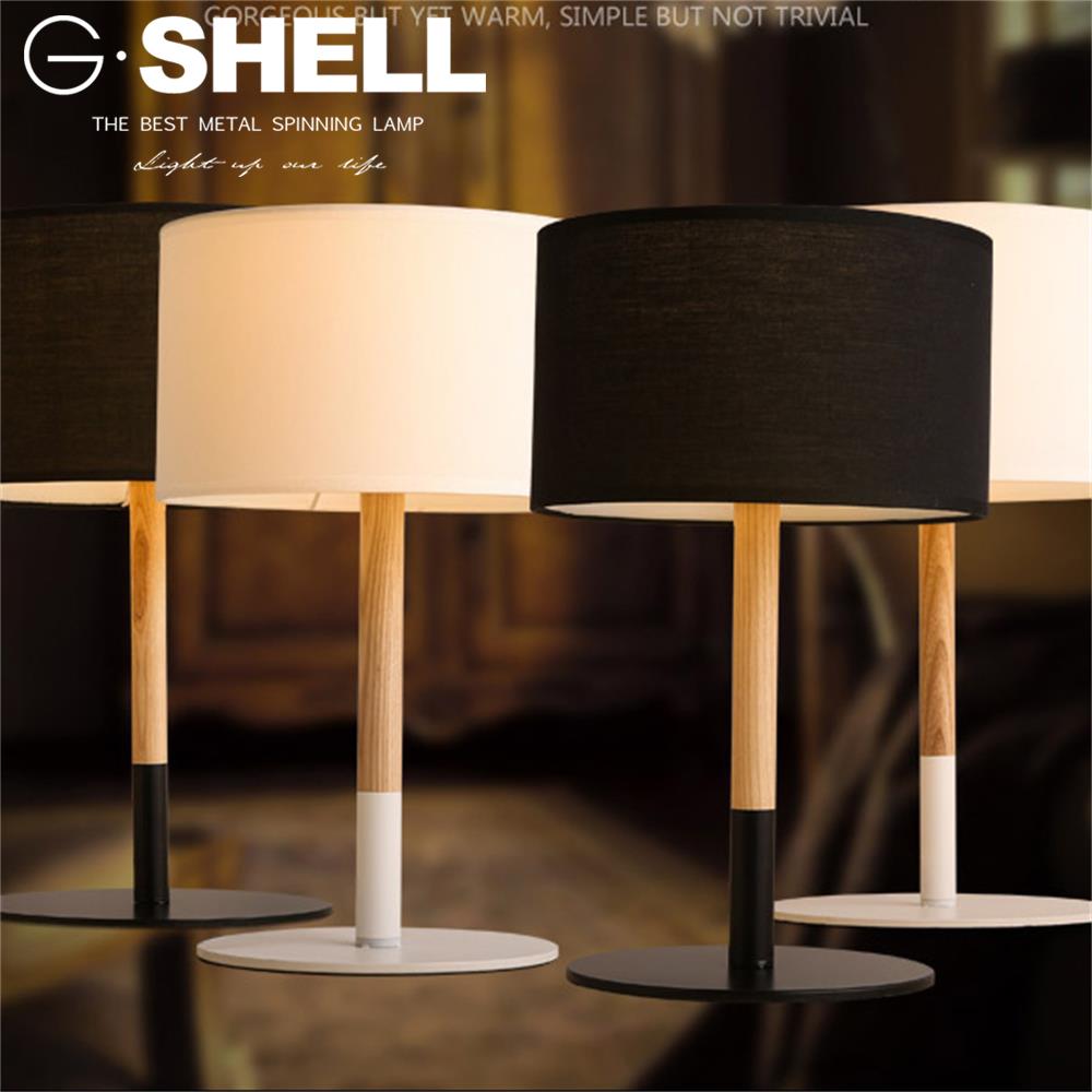 Power Outlet 110v Hotel Bedroom Bedside Table Lamp