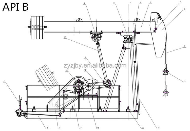 lufkin pump jack diagram related keywords