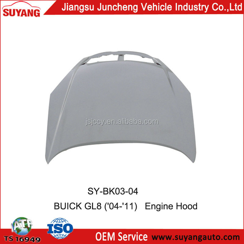 Replacement Engine Hood/Bonnet For MPV BUICK GL8 ('04-'11) Body Parts