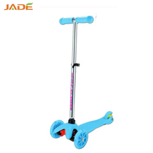 3 wheels led wheels tilt mini t-bar kick scooter