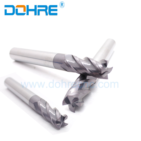 General Type Coated End Mill Black Smooth Blade