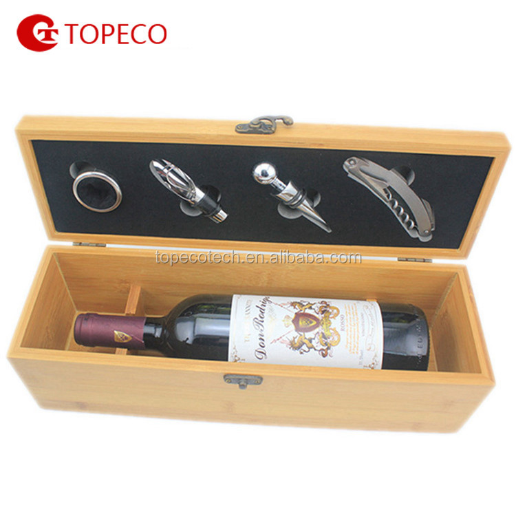 hot selling wine bag bottle wine tool set bar stool accessories kitchen cutting tools