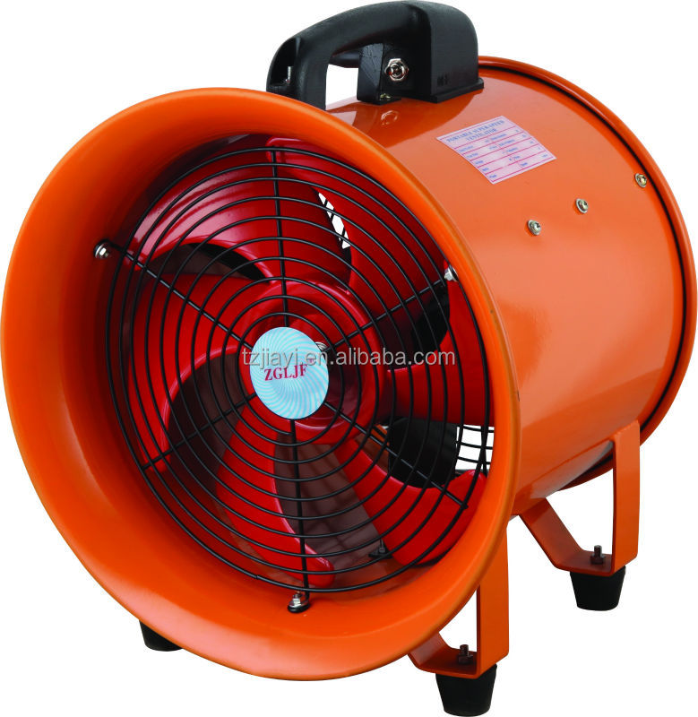 Portable Ventilation Fans : Quot mm v adjustable exhaust portable ventilator