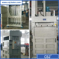 Leading manufacturer waste paper recycling baling machine for sale