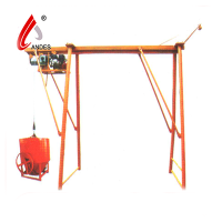 portable construction bridge crane