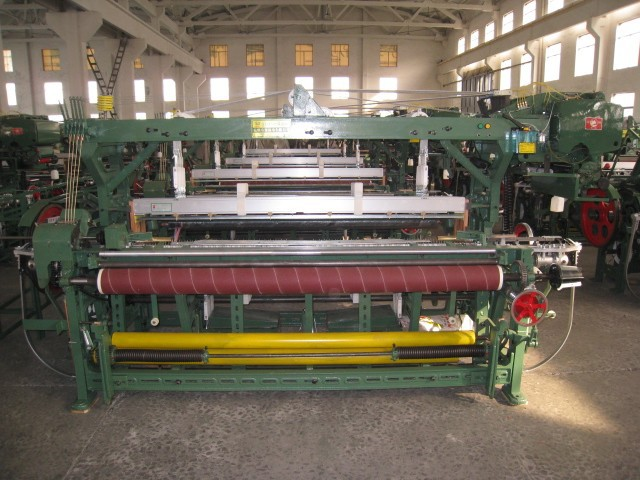 Cheap China Rapier Loom Machine with mechanical dobby or jacquard