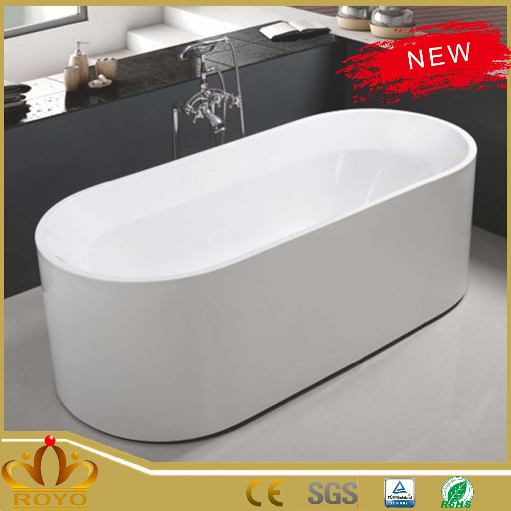 Superior Small Deep Modern Hotel Bathtub Bathtub 2M With Heater Mat